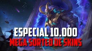 🔴MOBILE LEGENDS: MEGA SORTEO DE SKINS | ESPECIAL 10.000 SUSCRIPTORES | MDGAMES