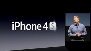 Apple Special Event 2011 - iPhone 4S Introduction(Introduced in October 2011, the iPhone 4S represented a significant under-the-hood hardware upgrade from the original iPhone 4. Apple claimed a 2x CPU and ..., 2013-03-02T05:50:34.000Z)