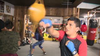 San Antonio park police officer starts boxing gym to deter youth from crime