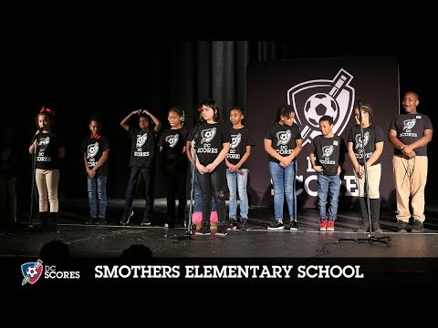 Smothers Elementary School performs at the 2018 Eastside Poetry Slam