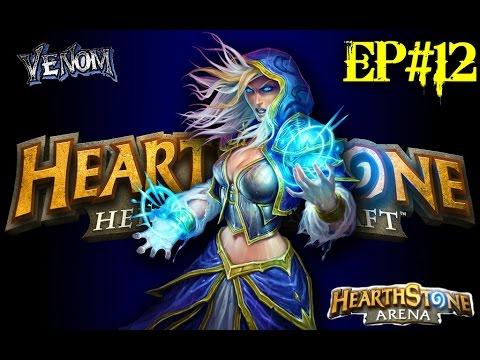 Hearthstone in Romana ep#12 Arena cu Mage part#1