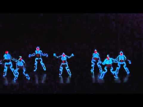 Neon Hip-Hop Dance