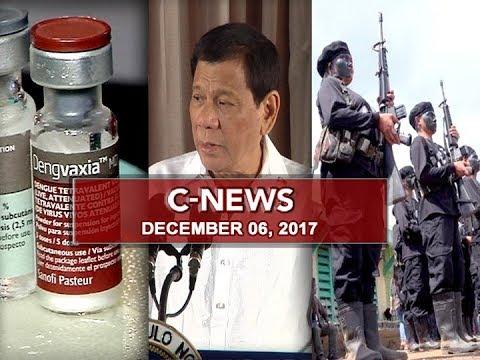 UNTV: C-News (December 6, 2017)
