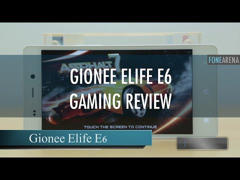Gionee Elife E6 Gaming Review