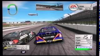 NASCAR Thunder 2003 (PS2) - Race 2/36 - Subway 400