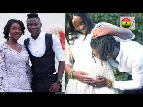 STONEBWOY SHARES  PHOTO OF WIFE LOUISA'S BABY BUMP