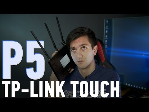 TP-LINK Touch P5: флагман с сенсорным дисплеем