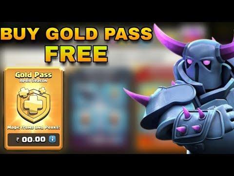 coc free gold