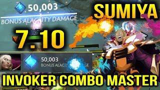 Sumiya: Invoker Combo Master so satisfying to watch he Play Dota 2 7.10
