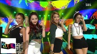 [??? (SISTAR)] OK GO! ??? ?! @???? Inkigayo 140727 MP3