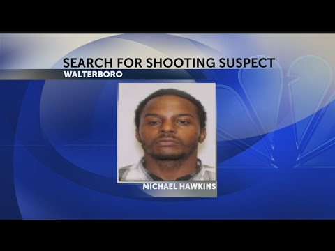 Shooting suspect wanted in Walterboro
