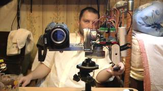 2/5 Pan & Tilt How to Build Your Own remote control поворотная видеокамера