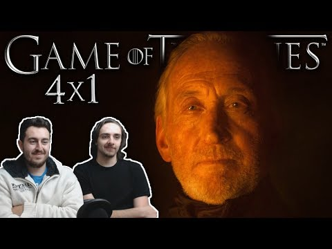 "Game of Thrones Season 4 Episode 1 REACTION ""Two Swords"""