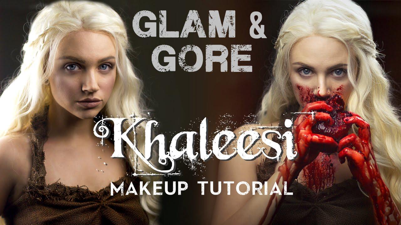 Game of thrones khaleesi daenerys targaryen makeup look game of thrones khaleesi daenerys targaryen makeup look tutorial youtube baditri Images
