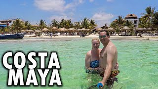 Costa Maya - Mahahual Village Mexico - Yaya Beach via celebrity equinox