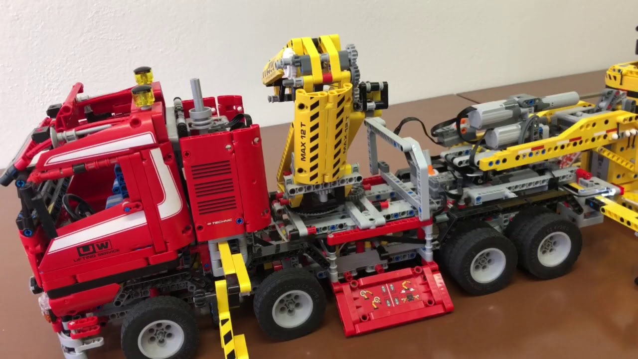 Lego Technic 8258, 8043, MOC-2273 - YouTube