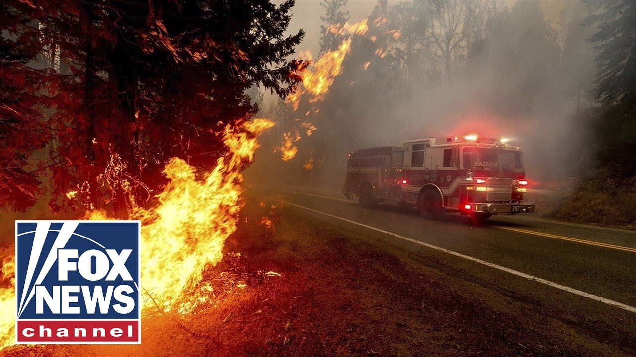 More Than 60 People Trapped by California Creek Fire 135k Acres Burned To The Ground