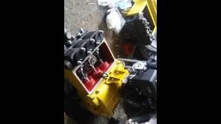 Буровий насос НБ-4 160/6.3 з бензиновим двигуном. ТИЗАР