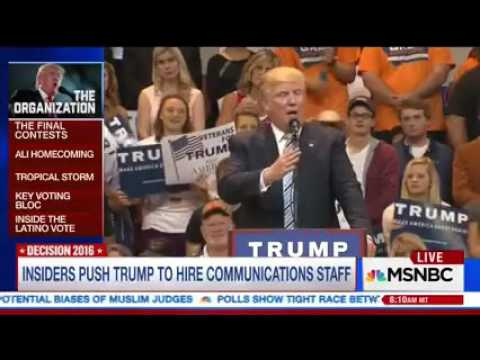 Katy Tur: Trump Relying On The RNC
