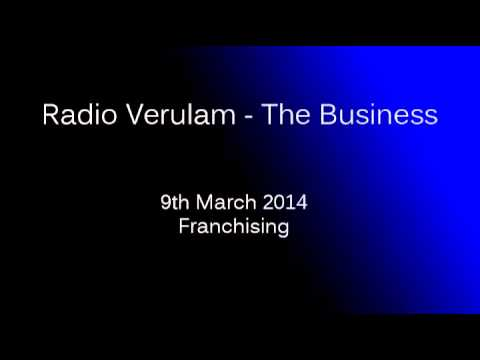 Franchising | 9th March 2014 | RV The Business |