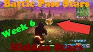 Fortnite Battle Royale!! Hidden Battle Pass Stars week 6! Metal bridge, Billboards and Crashed bus