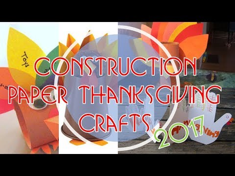 best-choice-for-your-construction-paper-thanksgiving-crafts