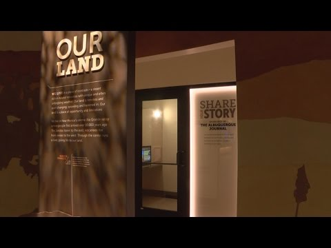 Albuquerque Museum allows users to record videos in confession-style booth