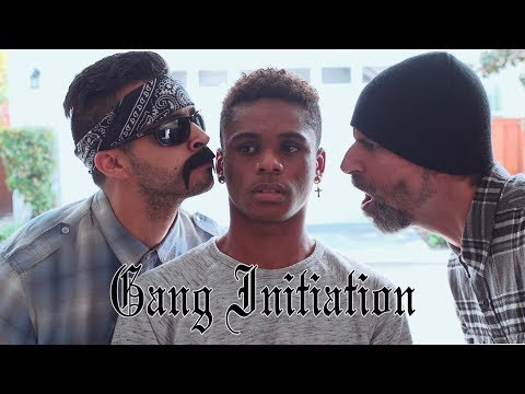 Gang initiation | David Lopez