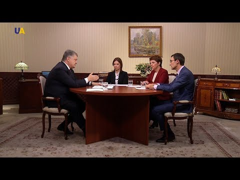 President Poroshenko`s Interview with Ukrainian Media