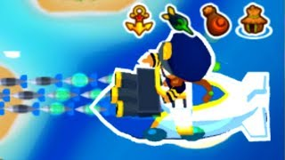 Super-Buffed Sub Commander Makes CHIMPS Mode Easy! (Bloons TD 6)