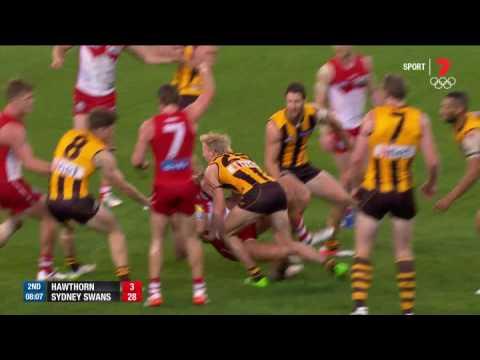 Round 9 AFL - Hawthorn v Sydney Swans Highlights