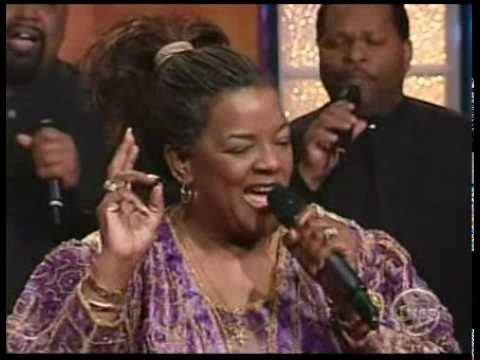 Shirley Caesar sings THERE'S POWER IN THE BLOOD