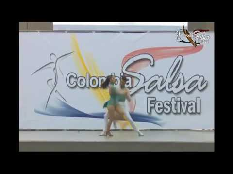 Luisa y Santiago Colombia Salsa Festival 2016 Pareja salsa cabaret