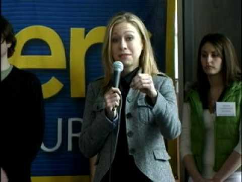 Chelsea Clinton - March 25, 2008