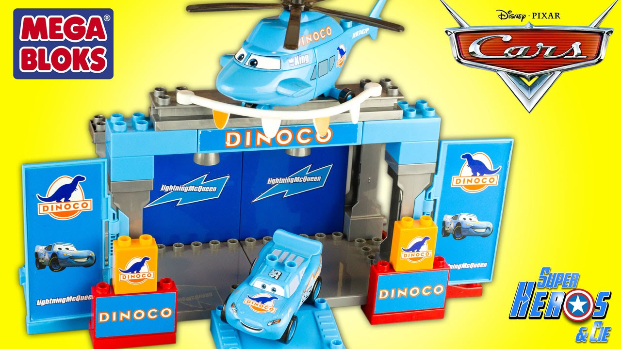 Cars Mcqueen 4k Disney 7785 Rayo Toy Dinoco Stage Mega Bloks Review Unboxing Lightning m8NnOv0w