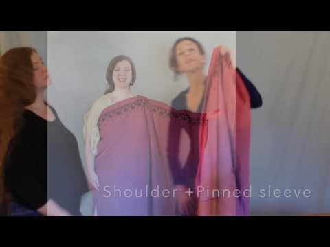How to Make a Chiton, a Toga and Peplos of 1 Dress, and How To wear it!