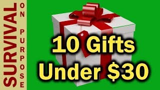10 Outdoor and Tactical Gift Ideas Under $30 -  2018
