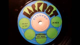 Dave Barker On Broadway - Jackpot