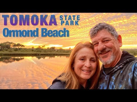 Florida Winter Camping  | Ormond Beach | Tomoka State Park