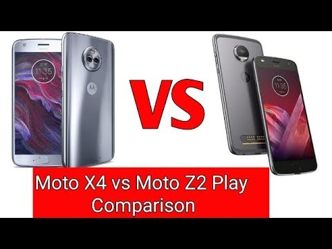 Moto X4 vs. Moto Z2 Force | Specs, Features, Comparison ...