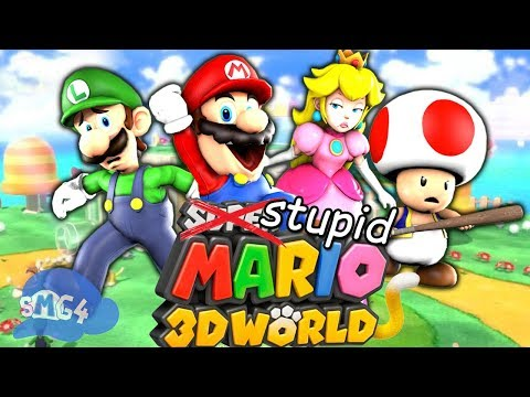 SMG4: Stupid Mario 3D World