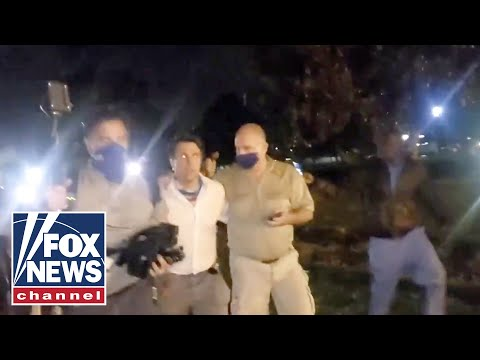 Fox News Reporter Attacked By Protesters: A Mob Targeted Us