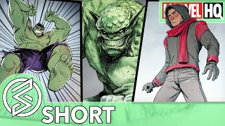 inferno and hulk confront monstrosity marvel rising ultimate comic inferno