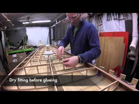 Building a Hollow Wood Paddle Board  Kit - Deck Reinforcements