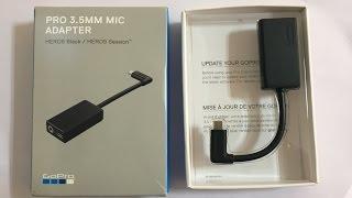 "GoPro 3.5mm External Mic Adapter for Hero 7 6 5 review AKA ""Brick"""