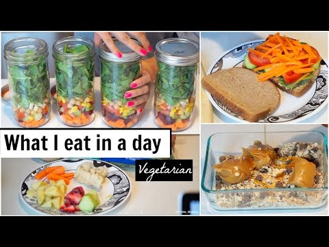 What I eat in a Day! | Vegetarian