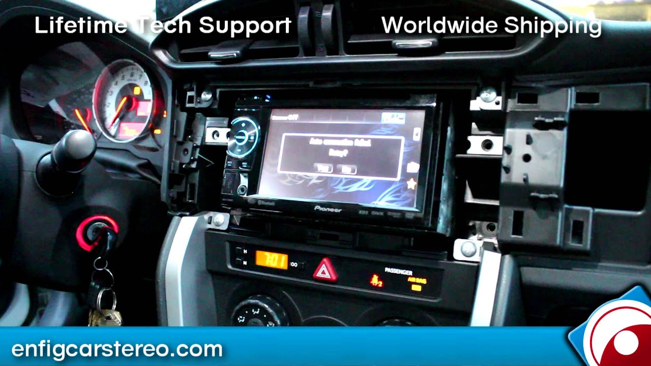 scion fr s radio installation teaser youtube. Black Bedroom Furniture Sets. Home Design Ideas