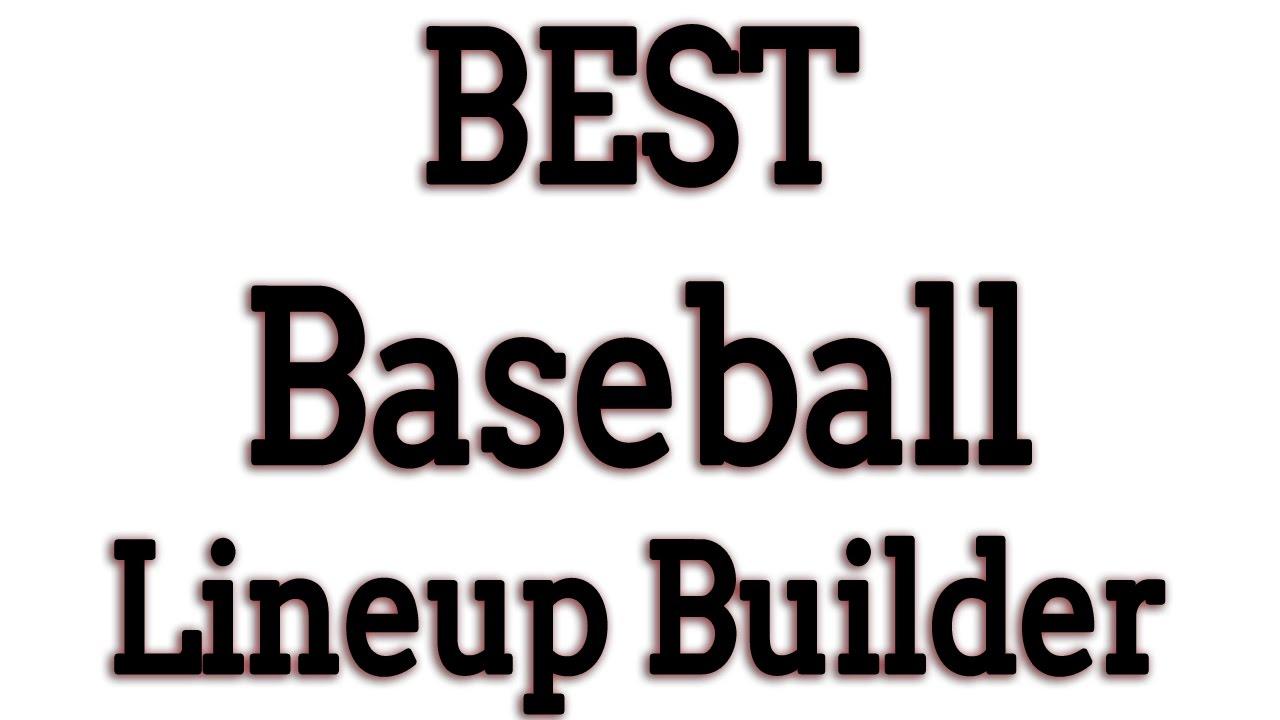 Daily Fantasy Lineup Generator Baseball