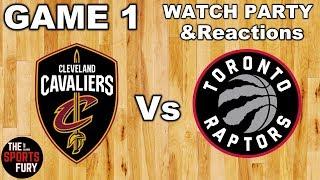 Cavaliers Vs Raptors   Live Watch Party & Reactions