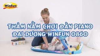 Thảm nằm chơi đàn piano đại dương đa năng Winfun 0860 NL | Winfun.vn